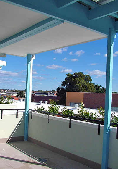roof top - addison road accommodation