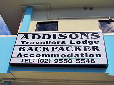 addison road accommodation